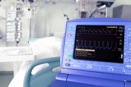 monitor intra-aortic counterpulsation device against the ICU