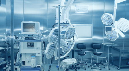 Foto de Equipment and technologies for the surgical treatment of the patient and conducting anesthesia - Imagen libre de derechos
