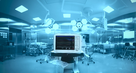 Foto de Innovative technology in a modern hospital operating room - Imagen libre de derechos