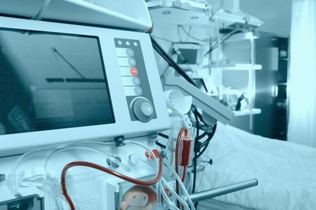 Foto de Advanced medical equipment in hospital ward - Imagen libre de derechos