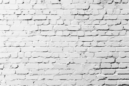 Ilustración de Brick wall with features background - Imagen libre de derechos