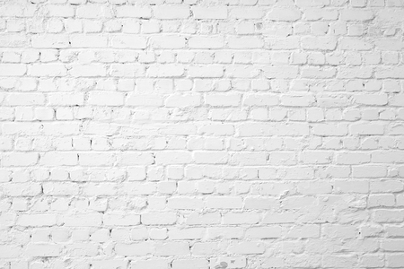Photo for Loft styled white brick wall. - Royalty Free Image