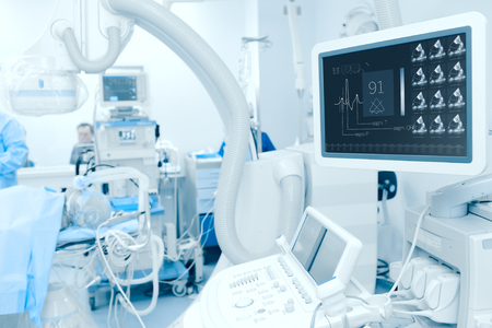 Photo for Modern technology in the diagnosis of heart disease. - Royalty Free Image