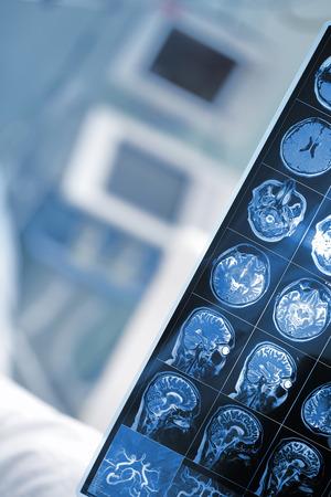 Foto de Checkup results in doctor hand. - Imagen libre de derechos
