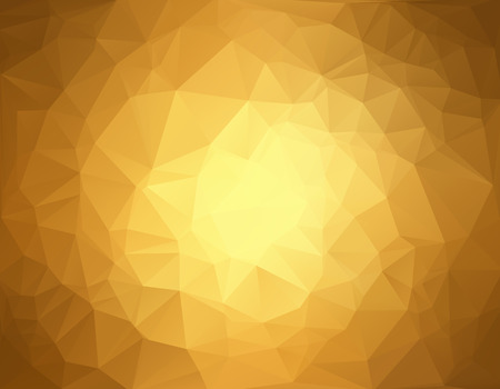 Illustration pour Brown Polygonal Mosaic Background, Creative Design Templates - image libre de droit