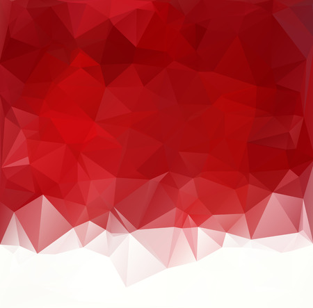 Ilustración de Red Polygonal Mosaic Background, Creative Design Templates - Imagen libre de derechos