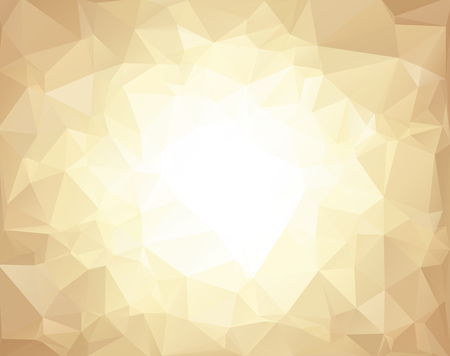 Ilustración de Brown Polygonal Mosaic Background, Creative Design Templates - Imagen libre de derechos