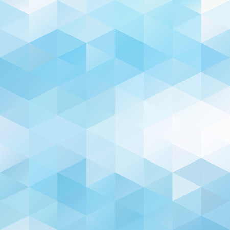 Illustration for Blue Grid Mosaic Background, Creative Design Templates - Royalty Free Image