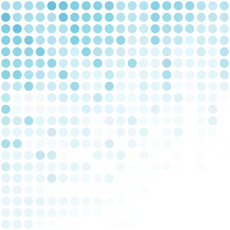 Ilustración de Blue Dots Background, Creative Design Templates - Imagen libre de derechos
