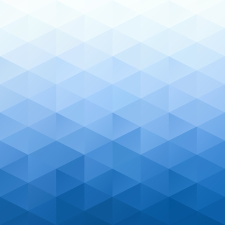 Illustration for Blue Grid Mosaic Background, Creative Design Templates - Royalty Free Image