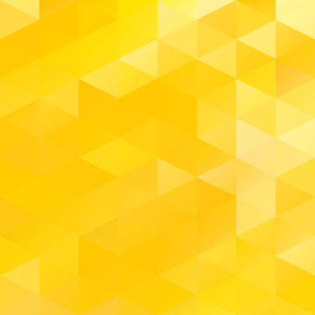 Illustration pour Yellow Grid Mosaic Background, Creative Design Templates - image libre de droit