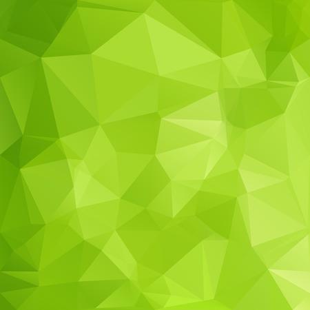 Ilustración de Green Polygonal Mosaic Background, Creative Design Templates - Imagen libre de derechos