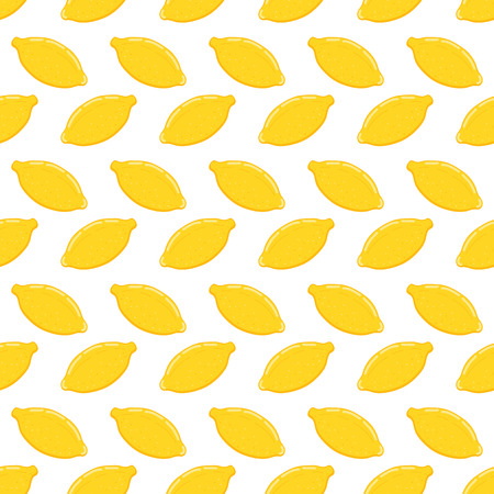 Illustration pour Lemon seamless pattern.Baby and kids style abstract geometric background.Colorful vector illustration. Hand drawn - image libre de droit