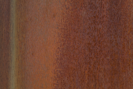 Foto de Closeup photo of a rusting metal surface. - Imagen libre de derechos