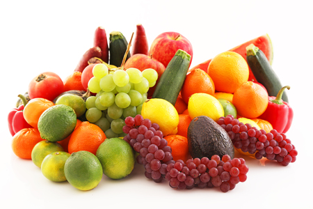 Photo for Fresh fruits and vegetables - Royalty Free Image