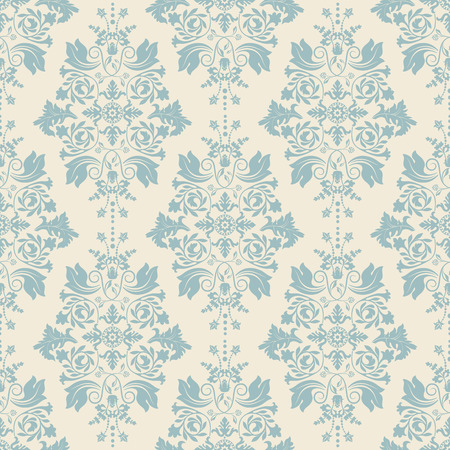 Illustration for Seamless damask pattern, classic wallpaper, classic background - Royalty Free Image