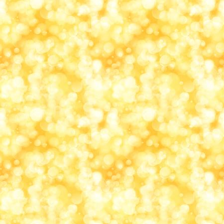 Illustration pour Golden seamless background with sparkling lights - image libre de droit