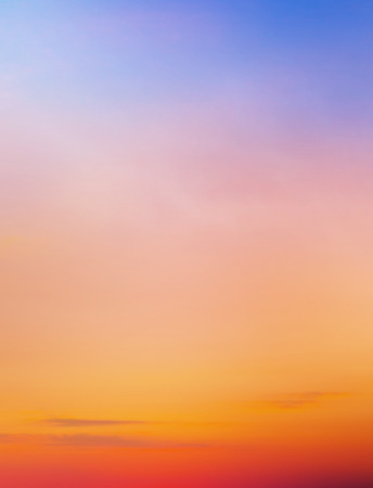 Photo for Sunset sky background - Royalty Free Image
