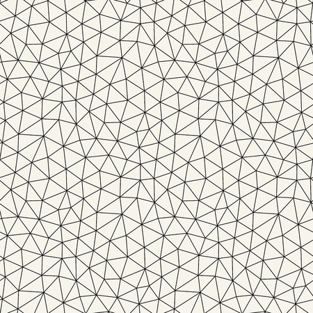 Illustration for abstract triangle minimal geometric grid pattern background - Royalty Free Image