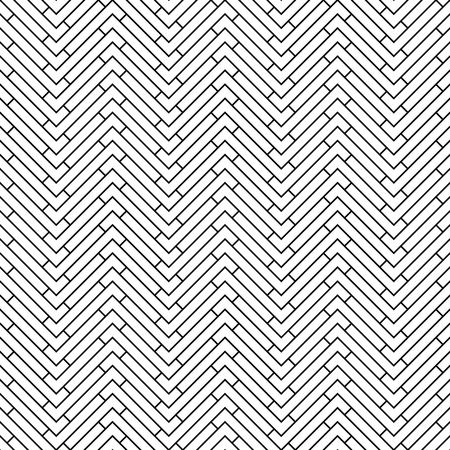 Illustration for abstract geometric art deco chevron background pattern - Royalty Free Image