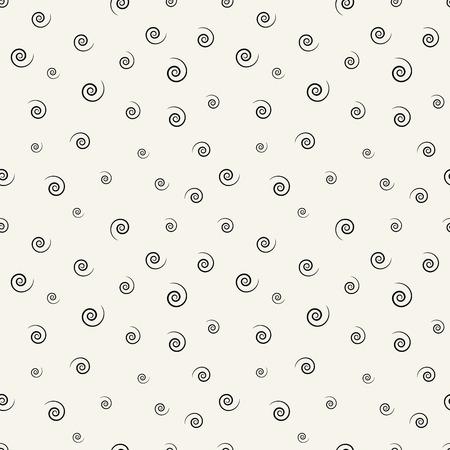 memphis style spiral seamless pattern