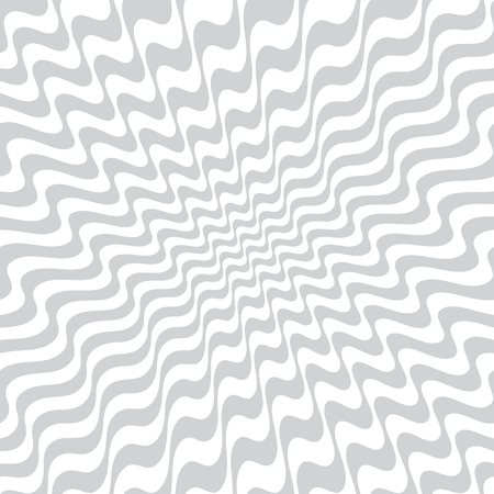 Illustration for abstract wavy stripes seamless pattern - Royalty Free Image