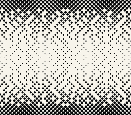 Illustration for abstract halftone geometric vector patter - Royalty Free Image
