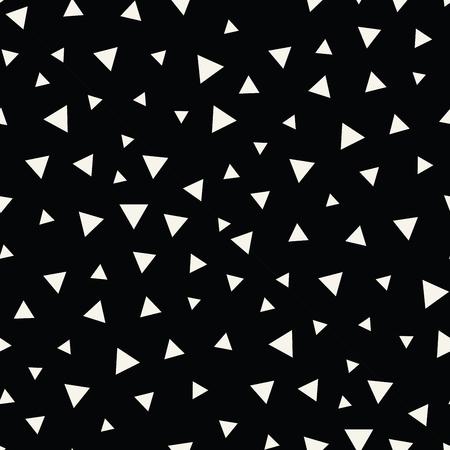 memphis style triangle seamless pattern