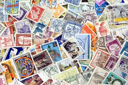 Foto de Post stamps - Imagen libre de derechos