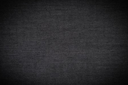 Photo pour Black Fabric Texture of Silk as Background - image libre de droit