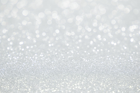 Photo pour white glitter christmas abstract background - image libre de droit