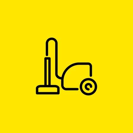 Illustration pour Vacuum cleaner icon - image libre de droit