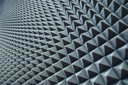 Photo for Close up of sound proof coverage in music studio - Royalty Free Image