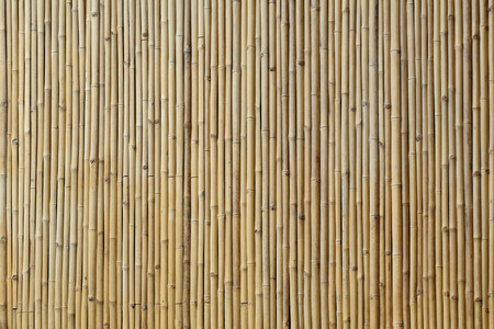 Photo for bamboo wall texture background - Royalty Free Image