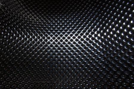 Photo pour silver steel metallic hole texture background - image libre de droit