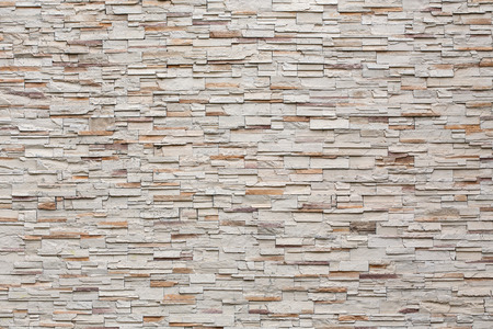 Photo for pattern of decorative stone wall background - Royalty Free Image