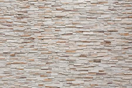 Photo pour pattern of decorative stone wall background - image libre de droit
