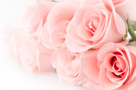 Foto de rose flower bouquet vintage background - Imagen libre de derechos