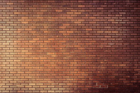 Foto de brick wall texture background material of industry construction, image used retro filter - Imagen libre de derechos