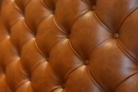 Photo for abstract luxury brown leather texture sofa furniture upholstery or wall interior decoration background - Royalty Free Image