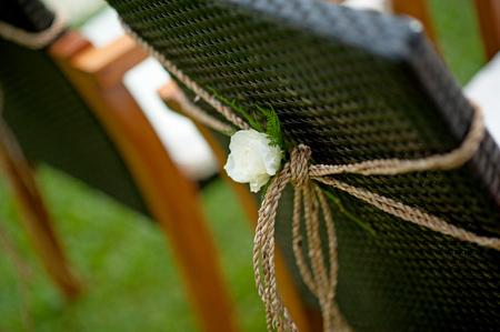 Foto de wedding flower decorations - Imagen libre de derechos