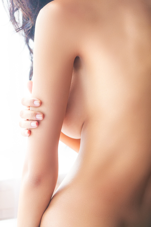 Photo for The asian woman skin back skin, body scape - Royalty Free Image