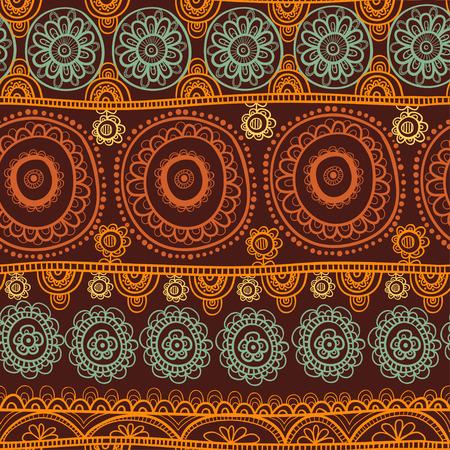 Illustration pour Seamless background vector illustration of the circles. - image libre de droit