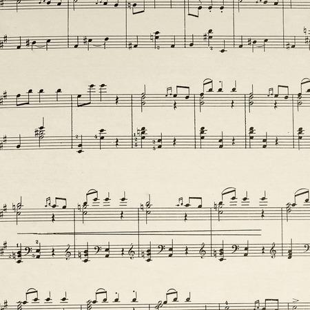Photo pour The music sheet page - the composition Beethoven - image libre de droit