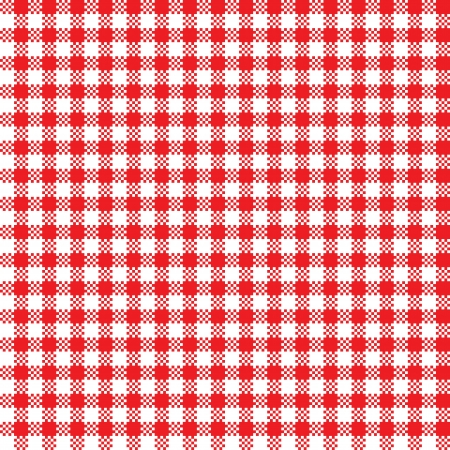 Red-white tablecloth pattern  Seamless background