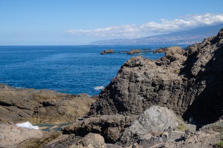 Foto de natural swimming pools on Tenerife island - Imagen libre de derechos