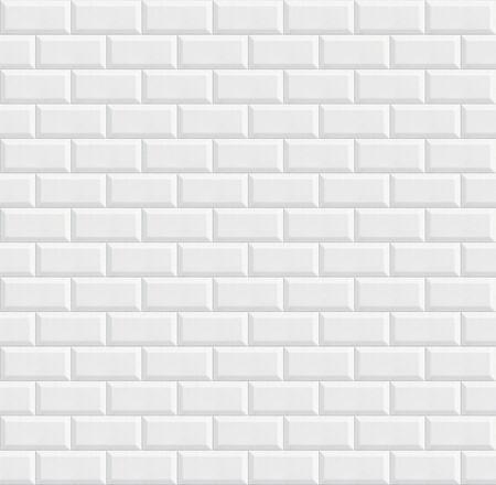 Photo pour seamless ceramic tiles, white wall background texture - image libre de droit
