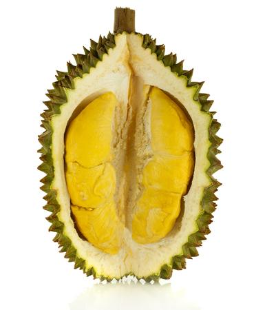 Photo pour durian isolated on white background - image libre de droit