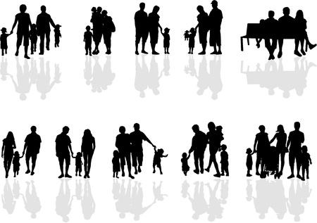 Photo pour family groups, work  - image libre de droit