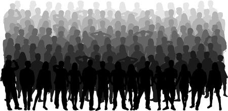 Ilustración de Group of people - Imagen libre de derechos
